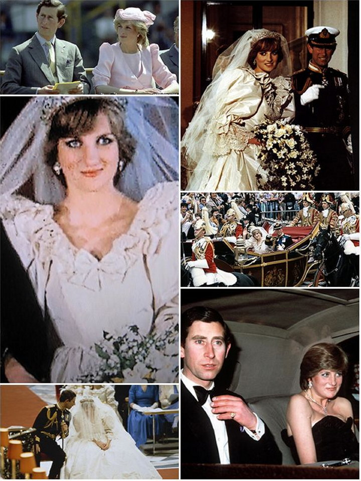A royal wedding history : Princesses Margaret, Anne and Diana | The Wedding Secret Magazine